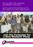 Join the Campaign for a New Workers' Party