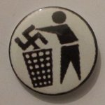 Anti-Fascist badge