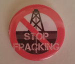 Stop Fracking badge