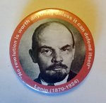 Lenin badge
