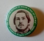 Friedrich Engels badge